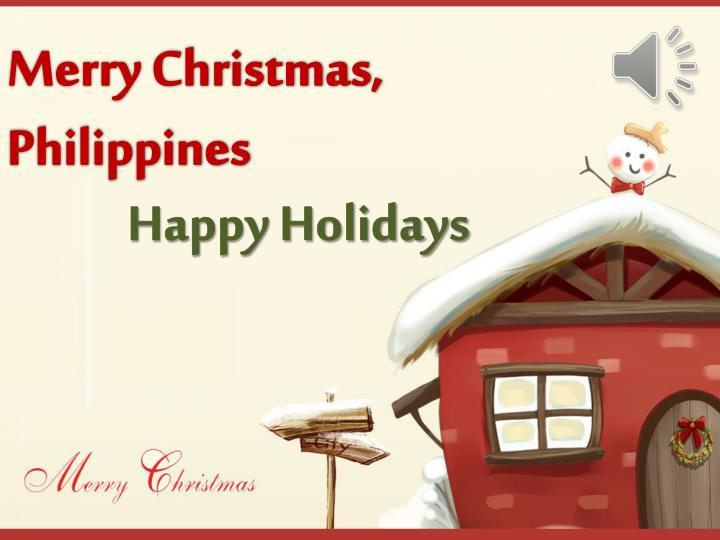 merry christmas philippines n.