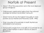 norfolk at present