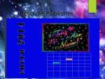 hoja de publisher