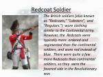 redcoat soldier