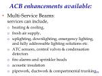 acb enhancements available1