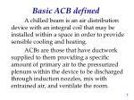 basic acb defined