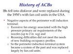 history of acbs1