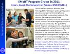 smart program grows in 2011 erica l corral the university of arizona dmr 0954110