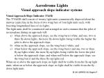 aerodrome lights visual approach slope indicator systems1