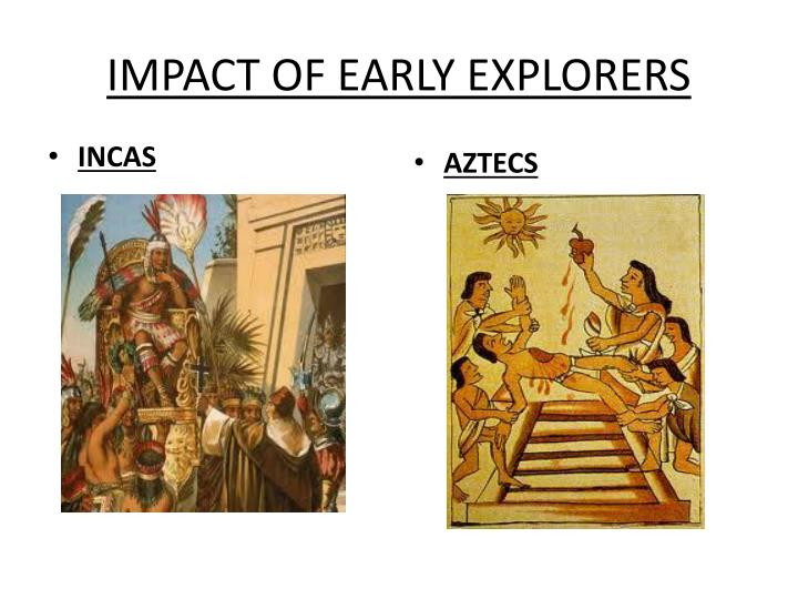 impact of early explorers n.