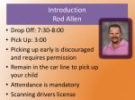 introduction rod allen