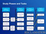 study phases and tasks