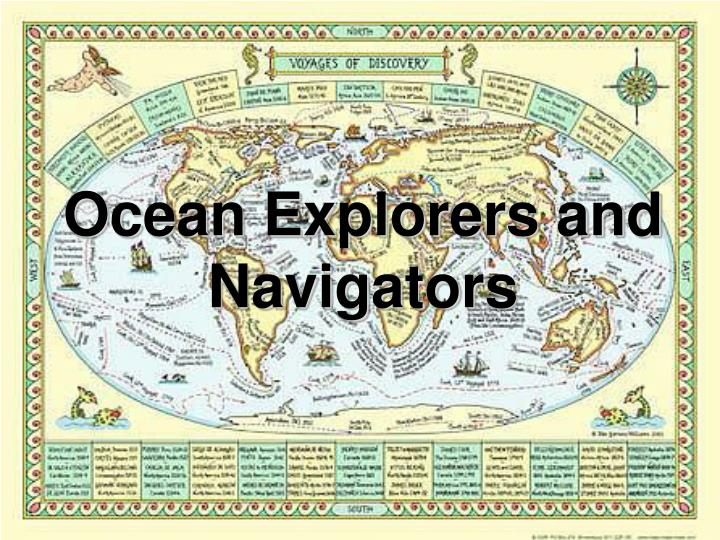 ocean explorers and navigators n.