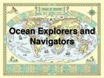 ocean explorers and navigators