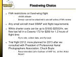 fixed wing choice