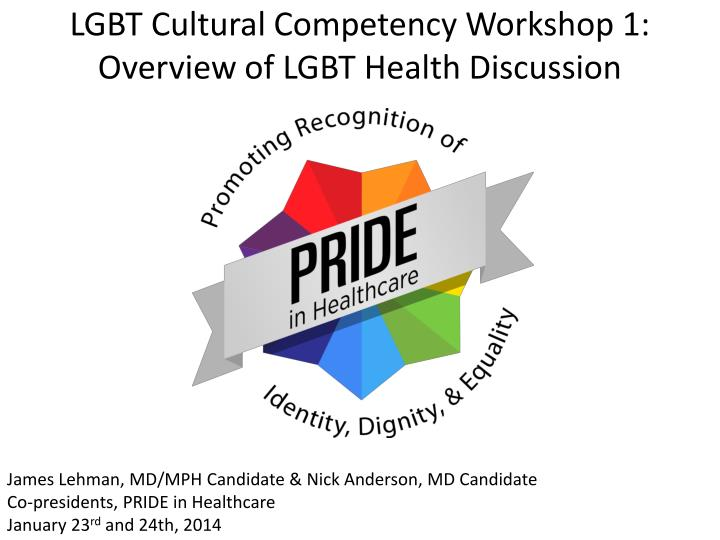 lgbt cultural competency workshop 1 overview of lgbt health discussion n.