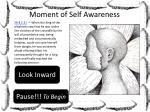 moment of self awareness