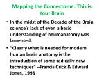 mapping the connectome this is your brain