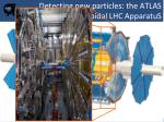 detecting new particles the atlas experiment a toroidal lhc apparatus