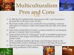 multiculturalism pros and cons