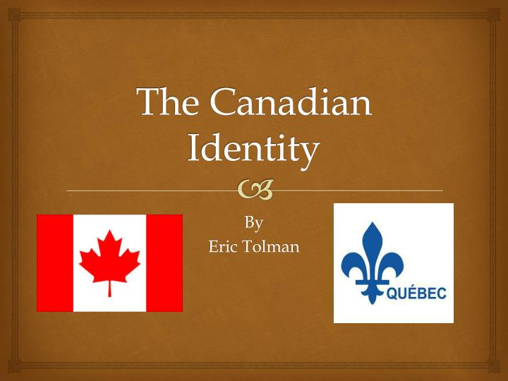 the canadian identity n.