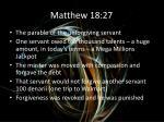matthew 18 27