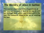 the ministry of jesus in galilee103