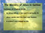 the ministry of jesus in galilee2