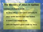 the ministry of jesus in galilee3
