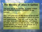 the ministry of jesus in galilee31