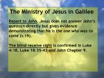 the ministry of jesus in galilee56