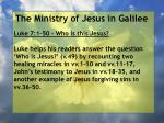 the ministry of jesus in galilee6
