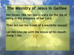 the ministry of jesus in galilee85