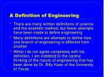 a definition of engineering1