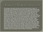 english 9 evidence of goal 1