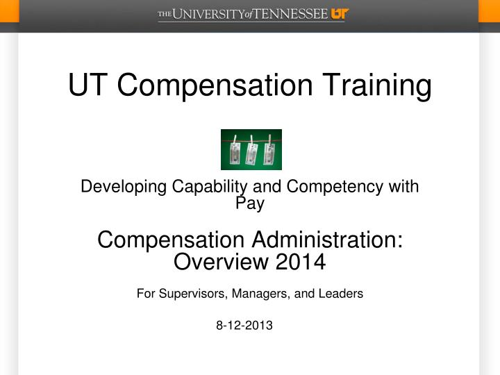 ut compensation training n.
