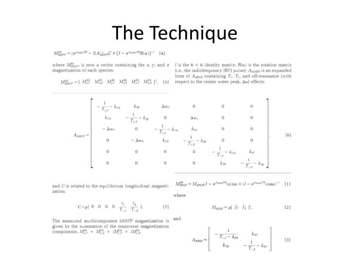 The Technique