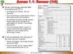 annex 1 1 sensor 1 4