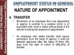 nature of appointment2