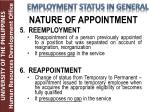 nature of appointment3