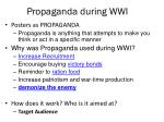 propaganda during wwi