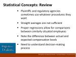 statistical concepts review
