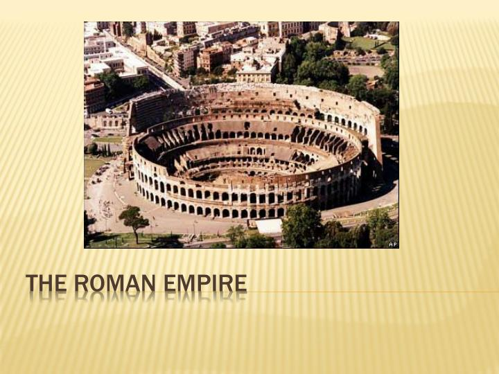 the roman empire n.