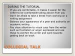 collegial talk2