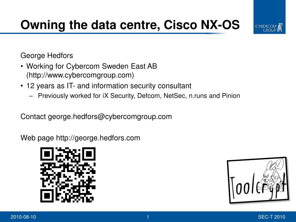 PPT - Owning the data centre, Cisco NX-OS PowerPoint