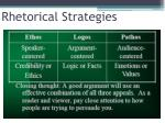 rhetorical strategies1