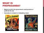 what is propaganda