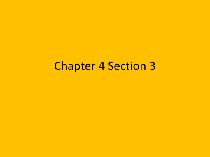 chapter 4 section 3 n.