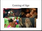 coming of age1