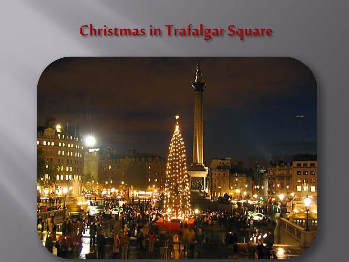 Christmas in Trafalgar