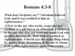 romans 4 3 8