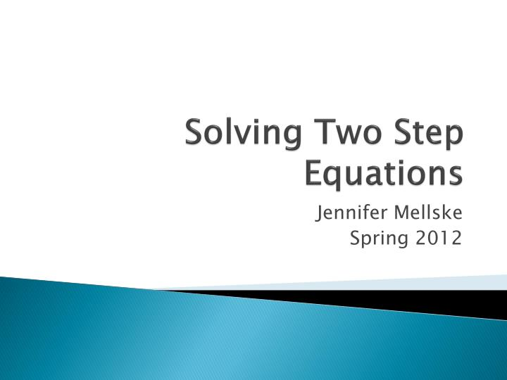 solving two step equations n.