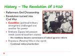history the revolution 0f 1910