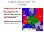 fundamental causes ii the alliances